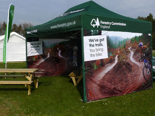 Mini-marquee-branding-printing-Forestry-Commission